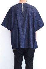 画像6: yoshio kubo GROUNDFLOOR / デニムプルオーバーシャツ (6)