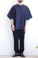 画像2: yoshio kubo GROUNDFLOOR / デニムプルオーバーシャツ (2)