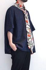 画像12: yoshio kubo GROUNDFLOOR / デニムプルオーバーシャツ (12)