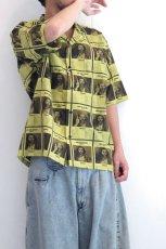 画像13: yoshio kubo GROUNDFLOOR / WANTEDアロハシャツ (13)