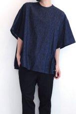 画像4: yoshio kubo GROUNDFLOOR / デニムプルオーバーシャツ (4)