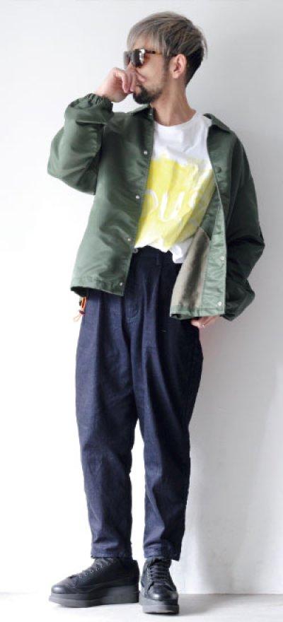 画像3: yoshio kubo GROUNDFLOOR / ジャカードコーチジャケット