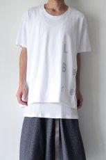 画像3: Licht Bestreben / ロゴプリントルーズTシャツ (3)