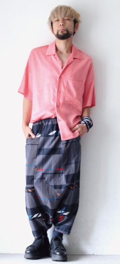 画像3: S I S E / オープンカラーシャツ