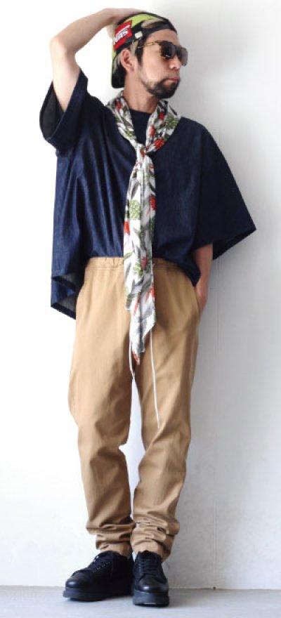 画像2: yoshio kubo GROUNDFLOOR / デニムプルオーバーシャツ