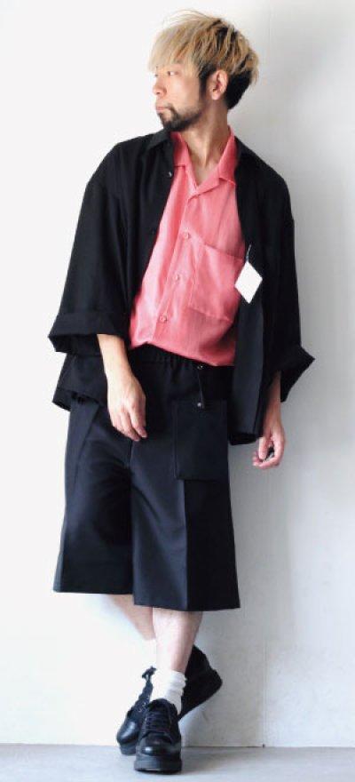 画像2: S I S E / オープンカラーシャツ
