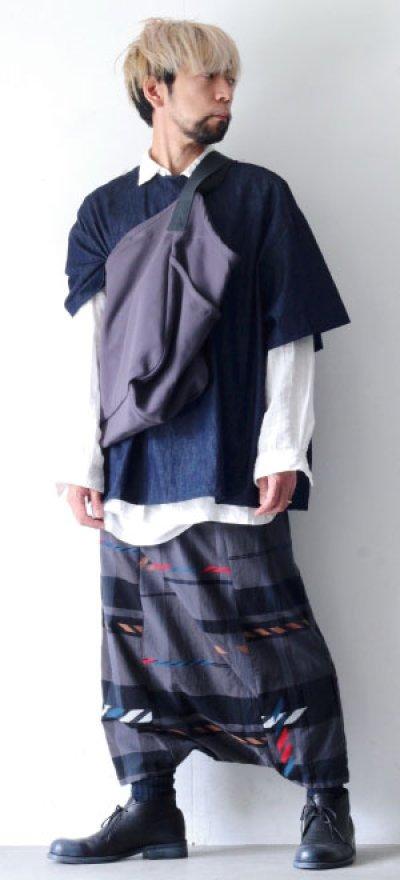 画像1: yoshio kubo GROUNDFLOOR / デニムプルオーバーシャツ