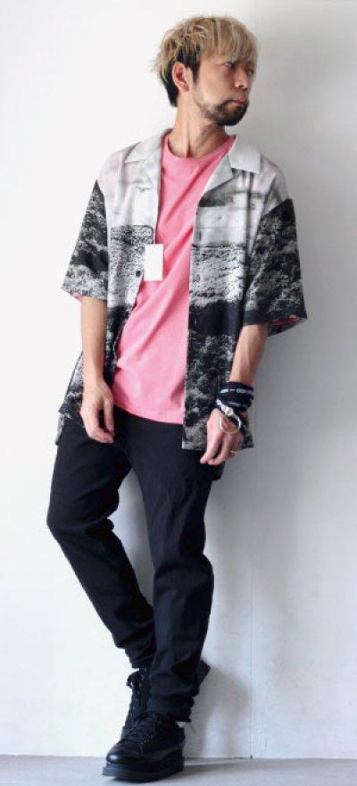画像3: soe /総柄ハーフスリーブシャツ