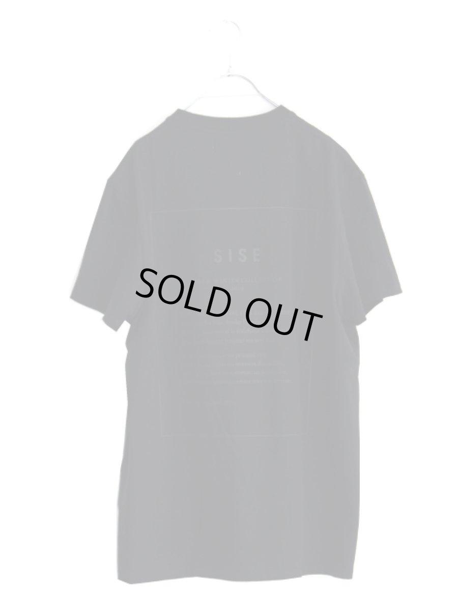 画像1: S I S E / レタープリントTシャツ (1)
