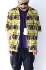 画像2: yoshio kubo GROUNDFLOOR / WANTEDアロハシャツ (2)