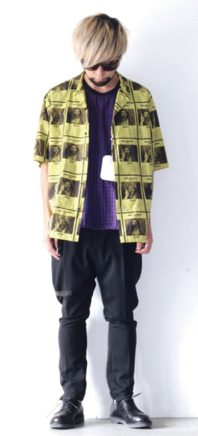 画像2: yoshio kubo GROUNDFLOOR / WANTEDアロハシャツ