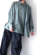 画像12: ETHOSENS / レイヤードシャツ (12)