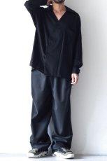 画像2: ETHOSENS / スキッパーシャツ (2)