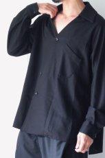 画像5: ETHOSENS / スキッパーシャツ (5)