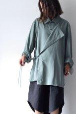 画像14: ETHOSENS / レイヤードシャツ (14)