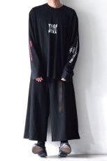 画像2: yoshio kubo GROUNDFLOOR / プリントロングTシャツ (2)