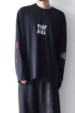画像3: yoshio kubo GROUNDFLOOR / プリントロングTシャツ (3)
