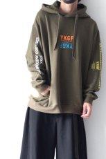 画像10: yoshio kubo GROUNDFLOOR / プリントパーカー (10)