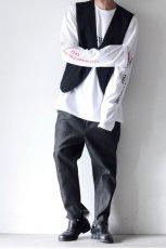 画像13: yoshio kubo GROUNDFLOOR / プリントロングTシャツ (13)