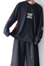画像4: yoshio kubo GROUNDFLOOR / プリントロングTシャツ (4)