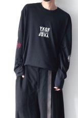 画像9: yoshio kubo GROUNDFLOOR / プリントロングTシャツ (9)