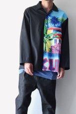 画像4: TENDER PERSON / オープンカラーシャツ (4)