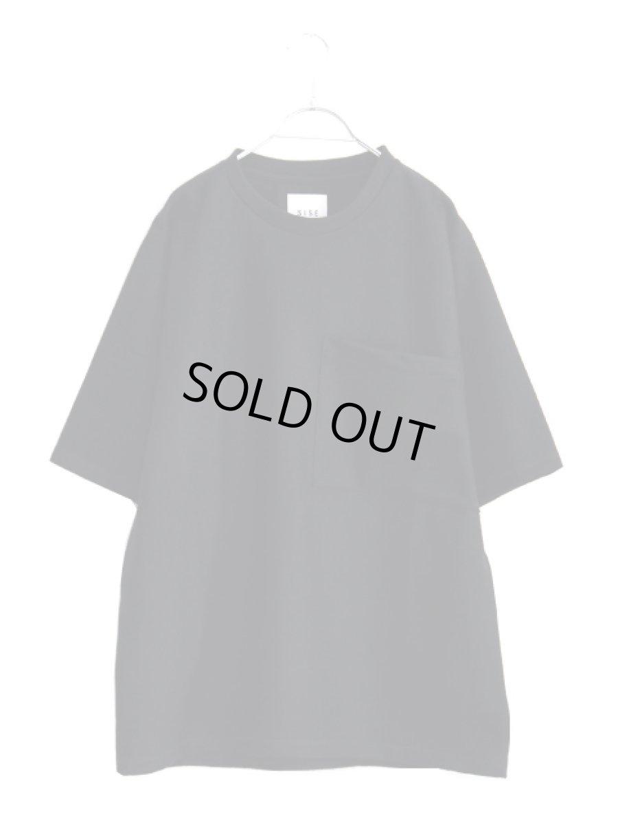 画像1: S I S E / ウールTシャツ (1)