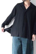 画像9: ETHOSENS / オープンカラーシャツ (9)