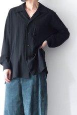 画像3: ETHOSENS / オープンカラーシャツ (3)