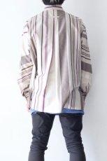 画像7: ETHOSENS / ストライプシャツ (7)