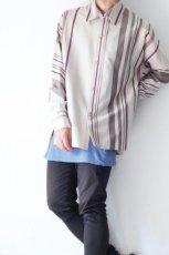 画像5: ETHOSENS / ストライプシャツ (5)