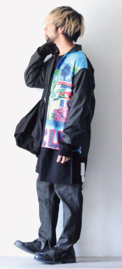 画像1: TENDER PERSON / オープンカラーシャツ
