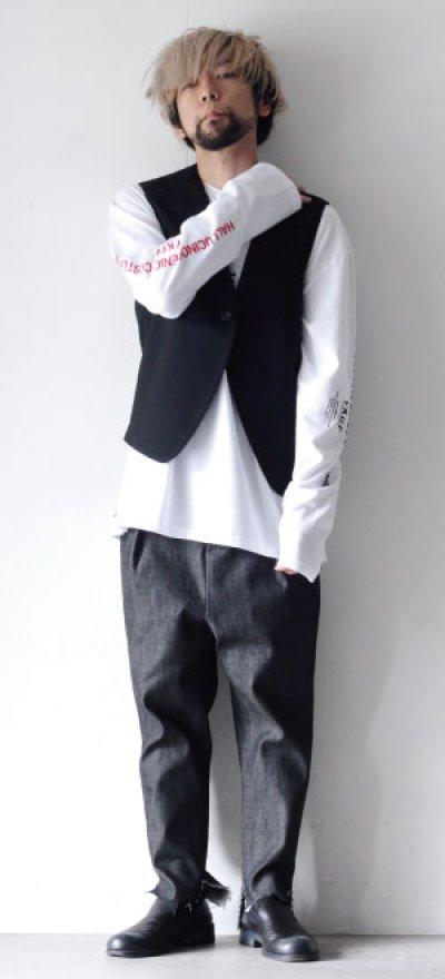 画像1: yoshio kubo GROUNDFLOOR / プリントロングTシャツ