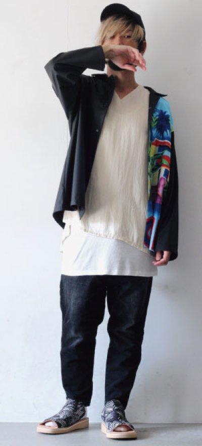 画像2: TENDER PERSON / オープンカラーシャツ