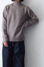 画像3: STUDIO NICHOLSON / FIVE GAUGE HIGH NECK JUMPER (3)