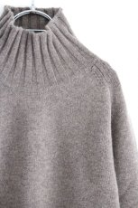 画像11: STUDIO NICHOLSON / FIVE GAUGE HIGH NECK JUMPER (11)