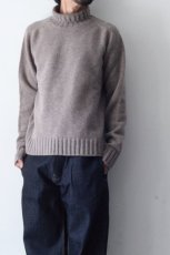 画像10: STUDIO NICHOLSON / FIVE GAUGE HIGH NECK JUMPER (10)