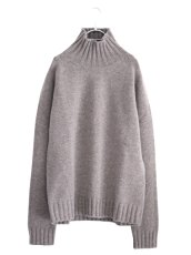 画像1: STUDIO NICHOLSON / FIVE GAUGE HIGH NECK JUMPER (1)