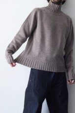 画像7: STUDIO NICHOLSON / FIVE GAUGE HIGH NECK JUMPER (7)