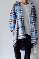 画像8: TENDER PERSON / オーバーサイズチェックシャツ (8)