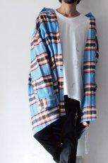 画像4: TENDER PERSON / オーバーサイズチェックシャツ (4)