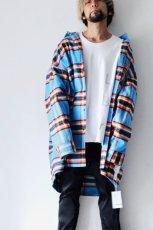 画像3: TENDER PERSON / オーバーサイズチェックシャツ (3)