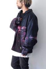 画像2: yoshio kubo GROUNDFLOOR /プリントフライトブルゾン (2)