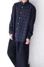 画像4: UNDECORATED / チェックシャツ (4)