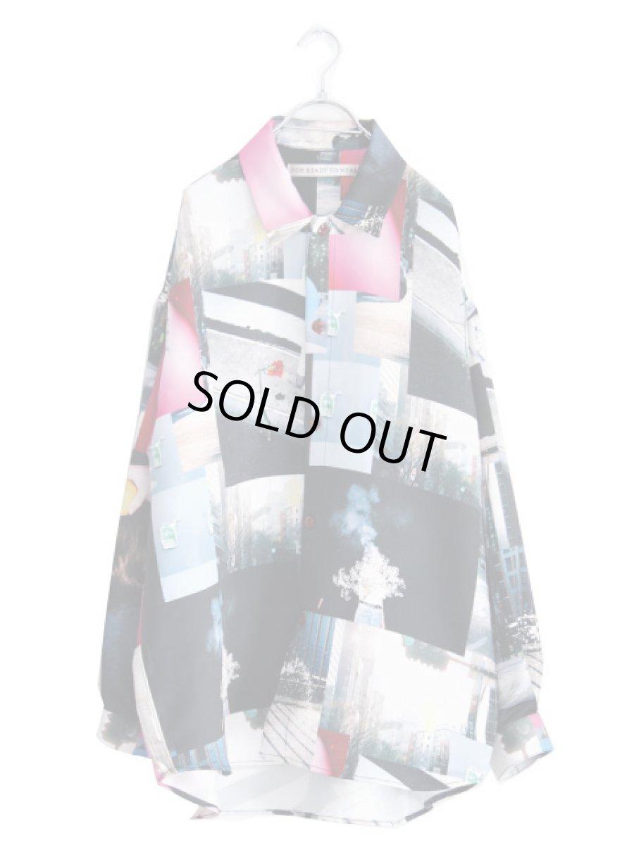 画像1: soe / プリントオーバーサイズシャツ (1)