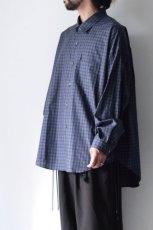 画像5: soe / チェックオーバーシャツ (5)