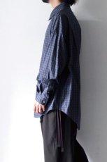 画像7: soe / チェックオーバーシャツ (7)