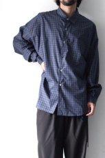 画像4: soe / チェックオーバーシャツ (4)