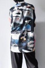 画像6: soe / プリントオーバーサイズシャツ (6)