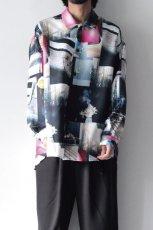 画像10: soe / プリントオーバーサイズシャツ (10)